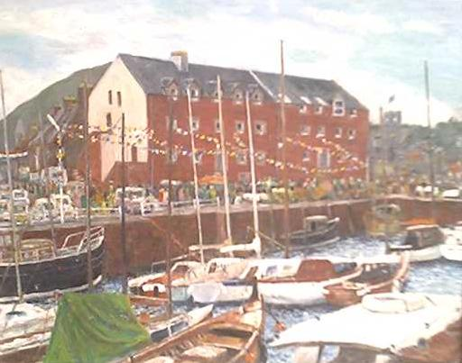 North Berwick harbour by Tom Davidson